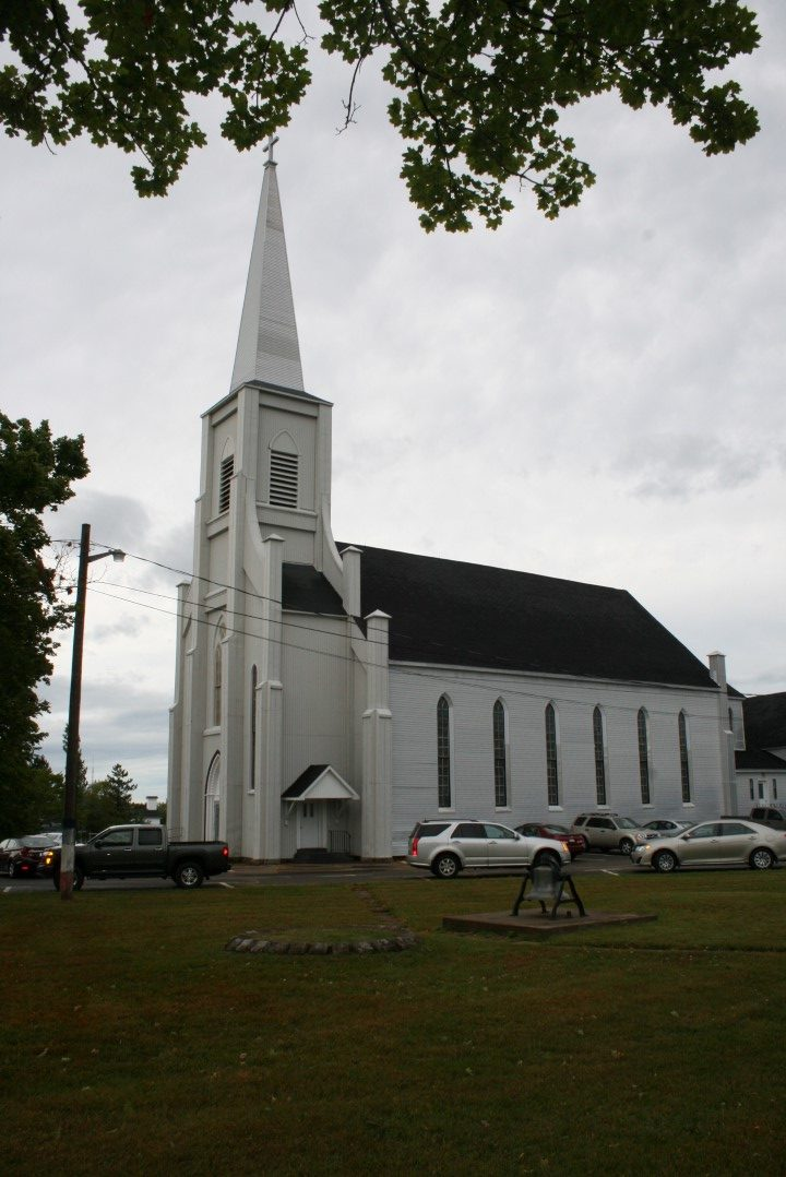 Church in Haute Aboujagane, NB