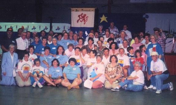 Groupe de Forest présent lors de la fondation de l'Association