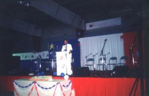Première conférence de Denis Forest de Ste-Marcelline